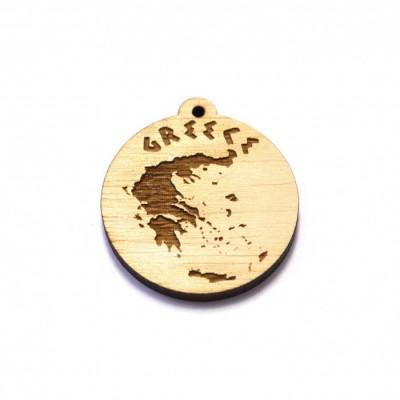 Greece ξύλινο στοιχείο 35mm