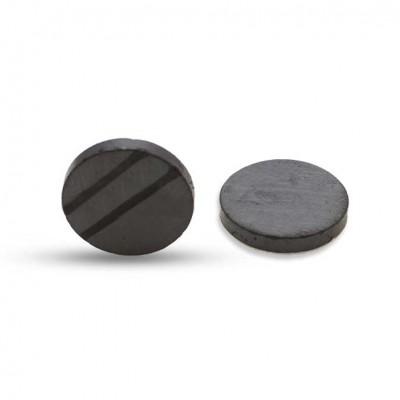 Μαγνήτης φερρίτη μονής όψεως 20mm